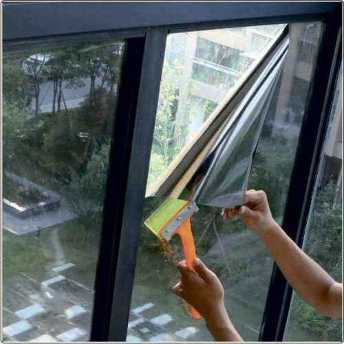 Солнцезащитная пленка .Зеркальные тонирующие на окна
